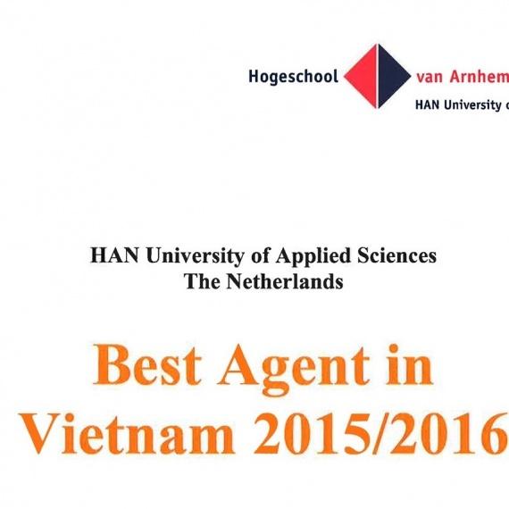 Ai là đại diện tuyển sinh xuất sắc nhất Việt Nam của Đại học HAN?