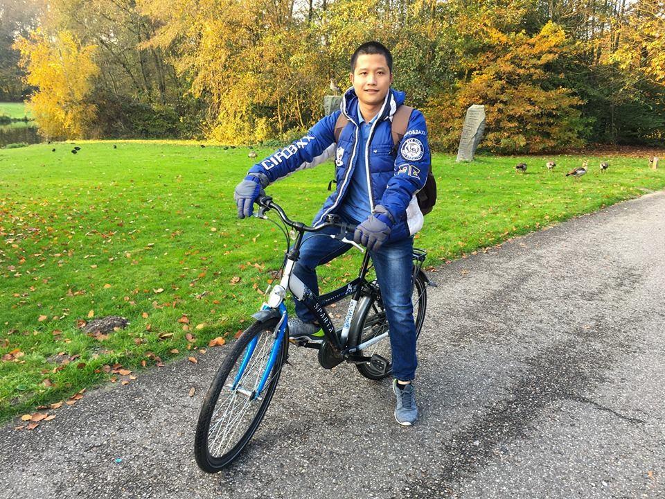 Nguyễn Văn Lanh – sinh viên Việt Nam đang theo học tại HAN